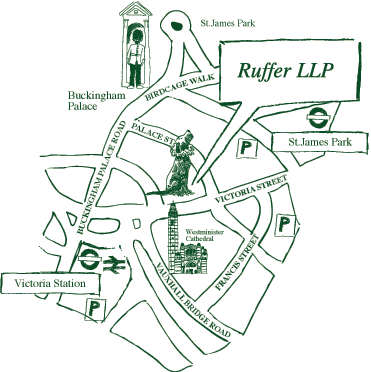 Ruffer London map